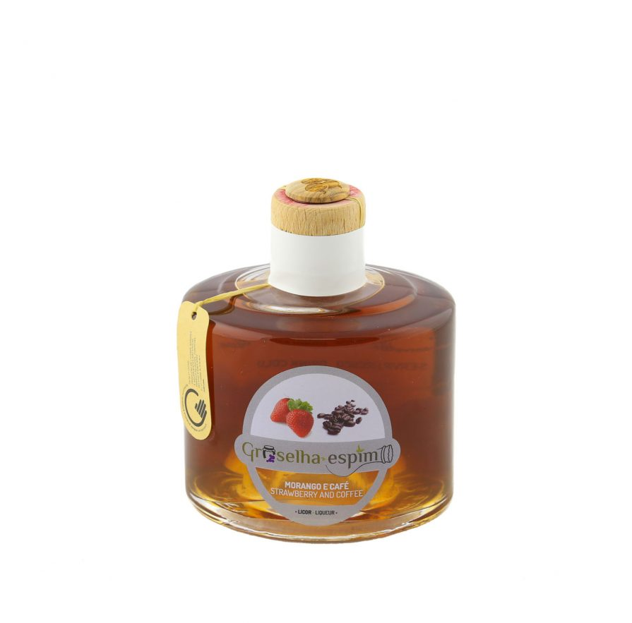 Licor De Morango e Café-18%vol 200ml