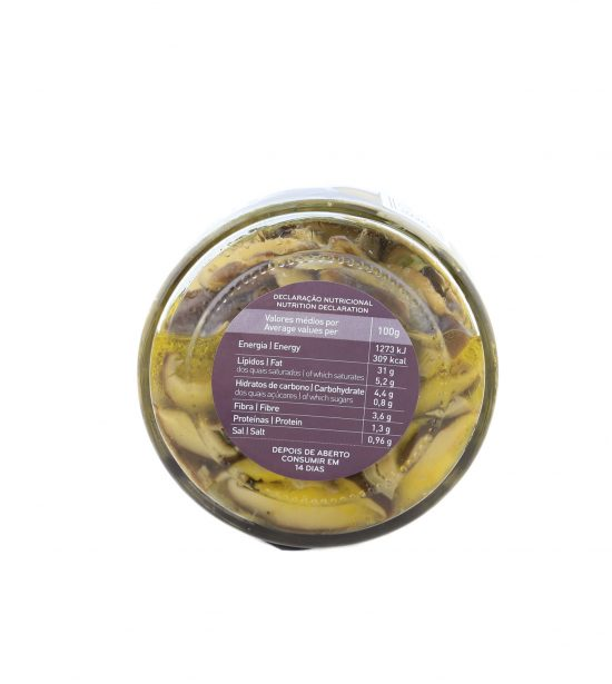 Cogumelos Shiitake com Cebola em Azeite e Especiarias